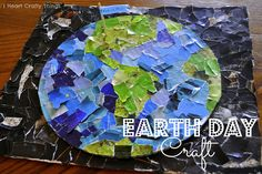 I HEART CRAFTY THINGS: Earth Day Collage