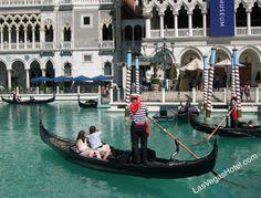 Gondola ride at the Venetian, Las Vegas