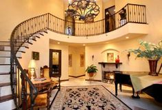 Love this stair case!