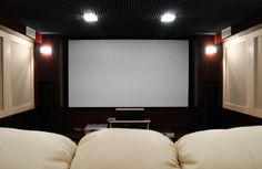 small room conversion to home theater | ... | Download Our Brochure | Convert your Garage into a Home Theatre