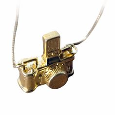 pretty little camera necklace