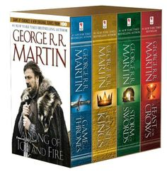 A Game of Thrones 4-Book Boxed Set (A Song of Ice and Fire Series); $29.99 for Nook