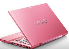 Any guy who gives his special lady a bright pink computer for Valentine's Day is a keeper for sure.