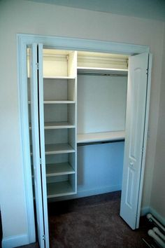 Small closet idea @ Home DIY Remodeling