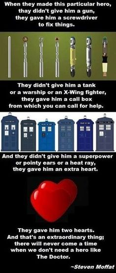 Why the Doctor is such a great hero