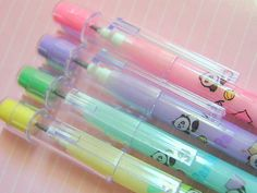 80's pencils