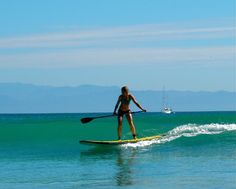 I would really like to try stand-up paddleboarding