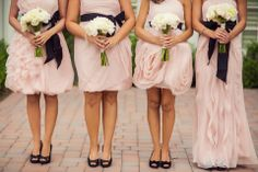 Bridesmaid & Bride picture