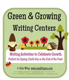 A collection of writing activities to celebrate growth. They're perfect for spring and the end of the school year. $4.75