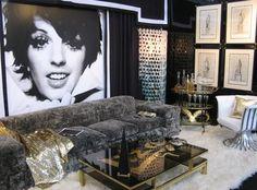 food, interiors, art, interior design styles, fabric decor, picture frames, hollywood regency, homes, blog