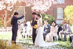 Spring magnolia wedding Feature on Vineyard Bride! - Gemini Photography Ontario #blossoms