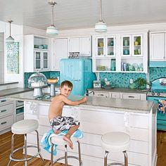 Love those retro appliances especially!