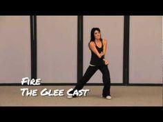 "REFIT CARDIO DANCE FITNESS ""FIRE"" (GleeCast) - YouTube"