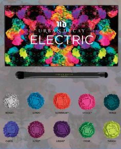 Um... the rumored Urban Decay ELECTRIC palette will be mine the second it is released this summer. Love bright colors!