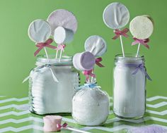 marshmallows on Pinterest | Marshmallow Pops, Olaf Marshmallow and ...