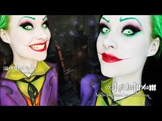 The Joker (Jack Nicholson Version) Makeup/Body Paint Tutorial - YouTube