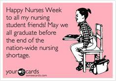 Happy Nurses Week, students! #NursesWeek #NursingStudents #LOL