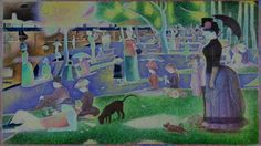 Georges Seurat - A Sunday on La Grande Jatte (1884) - Variation