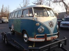 My son Brian's VW bus purchase lol