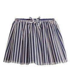H & M Striped Skirt