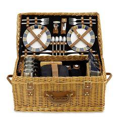 summer picnic, wicker picnic, company picnic, william sonoma, picnics