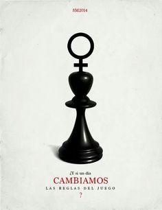 Dia internacional de la mujer, poster