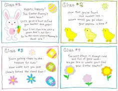 Easter Egg Hunt clues that bring it all back to Jesus!