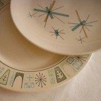 Starburst plates!