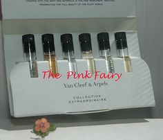 Van Cleef Arpels Collection Extraordinaire Sample Vials Set Gardenia Lys Bois | eBay