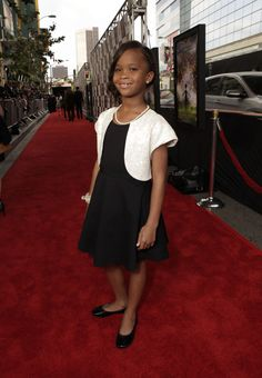 "Actress Quvenzhané Wallis attends the premiere of ""Beasts of the Southern Wild"" at Regal Cinemas LA Live on Friday June 15, 2012 in Los Angeles. (Photo by Todd Williamson/Invision for Fox Searchlight/AP Images)"