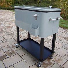 Patio Cooler Cart