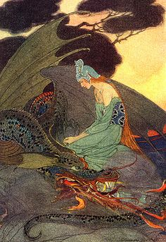 by Elenore Abbott for Grimm's Fairy Tales, Charles Scribner's Sons, NY 1920