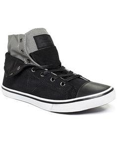 GUESS Men's Shoes, Mat Hi-Top Sneakers - Shoes - Men - Macy's More