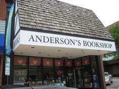 Anderson's Bookshop in Naperville, IL