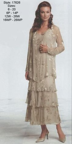 Womens Plus Size Mother Dresses 113