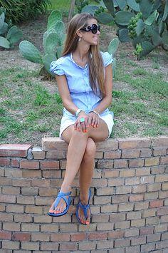sandali blue modello roma. Bello, vero? www.sandalishop.it