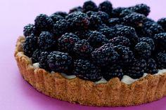 Blackberry Tart by EclecticRecipes.com #recipe