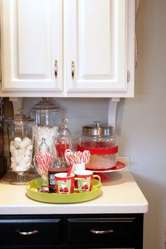 Hot chocolate bar will be the most popular spot in your kitchen  (Sweet Something Designs)
