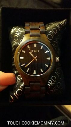 Give Your Sweetheart A Timeless Gift This Valentine's Day!  #JordWatch #Giveaway #Ad