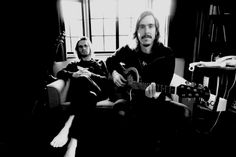 Mikael Akerfeldt from Opeth --with Steven Wilson.