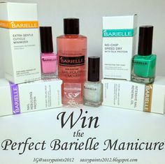 Sassy Paints: Win the Perfect Barielle Manicure!
