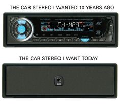 Car stereo sux these days..