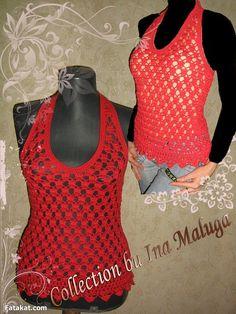 Amazing Crochet Blouses .. Don\t miss them