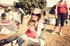 Festival fun at Green Man, August 2010