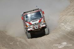 Dakar Rally Race Truck