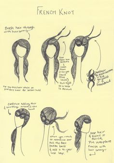 The French Knot (Braid) Tutorial