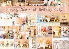 shabby chic birthday