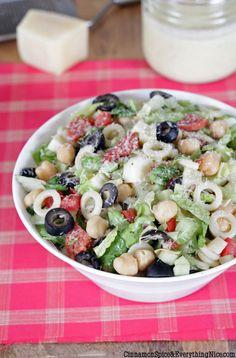 chopped salads, italian salad, salad recipes, pasta salad, food, italian pasta, italian chop, chop italian, chop salad
