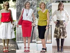 what is the perfect skirt length and skirt type for women over 40?
