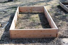 Great instruction by the Pioneer Woman on how to build a raised planter ree drummond, raised gardens, raised bed gardens, pioneer woman, vegetables garden, pioneer women, flowers garden, raised garden beds, raised flower beds